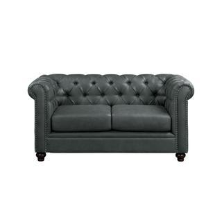 Wallstone Love Seat Gray