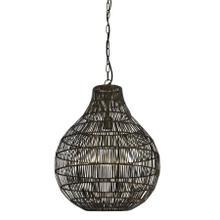 2900618 - Hanging lamp 46x56 cm KAYLA bronze