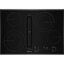 "30"" JX3™ Electric Downdraft Cooktop with Glass-Touch Electronic Controls, Black"