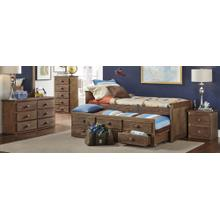Twin Captains Bed with Trundle
