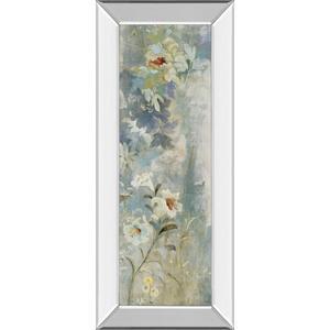 """Garden Haiku Il"" By Douglas Mirror Framed Print Wall Art"