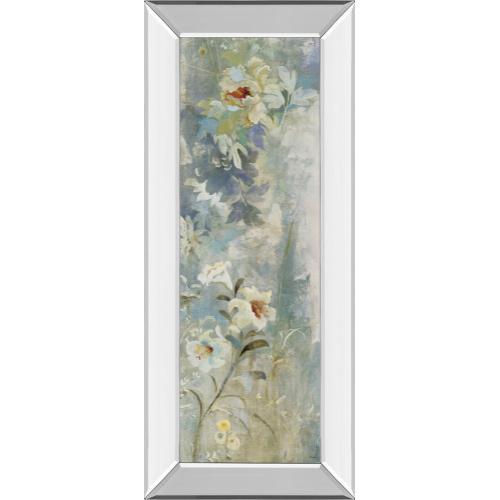 "Classy Art - ""Garden Haiku Il"" By Douglas Mirror Framed Print Wall Art"