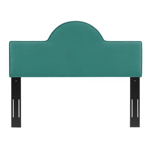 Dawn Full/Queen Performance Velvet Headboard in Teal