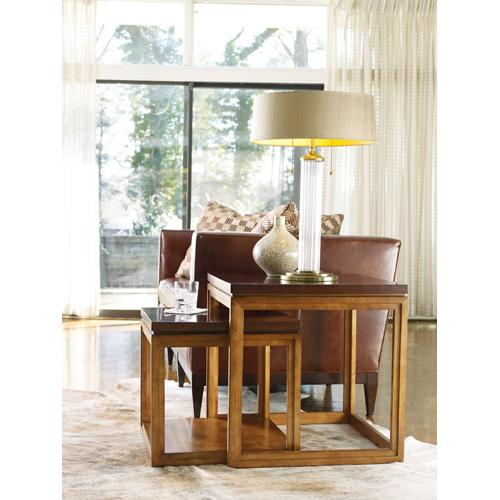 Product Image - Trilogy Nesting Tables/Oval Cocktail Table/Octagonal Accent Table-4 pc. Group-Floor Samples-**DISCONTINUED**