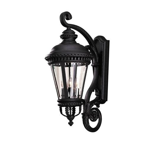 Castle Large Lantern Black