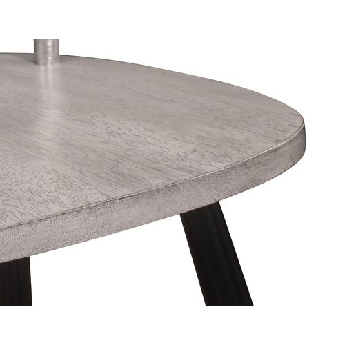Midland 5 Piece Dining Set, Classic Gray & Black D475-12-20-03-5pc-k