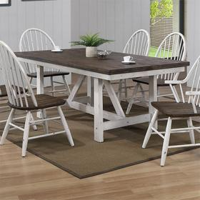 Fixed Top Trestle Table