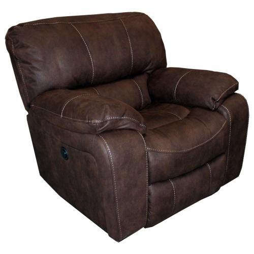 JUPITER - DARK KAHLUA Manual Glider Recliner