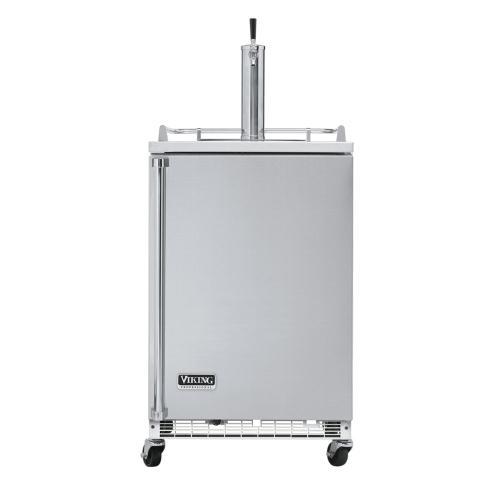 """Stainless Steel 24"""" Freestanding Beverage Dispenser - VRBD (Right Hinge Door)"""