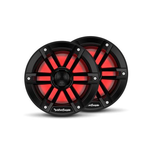 "Rockford Fosgate - M1 6.5"" Color Optix™ Marine 2-Way Speakers - Black"