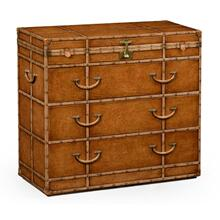 Travel chest of drawer style dressing chest