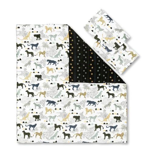 Kids Comforter and Pillowcase Safari Wild Cats - 54''