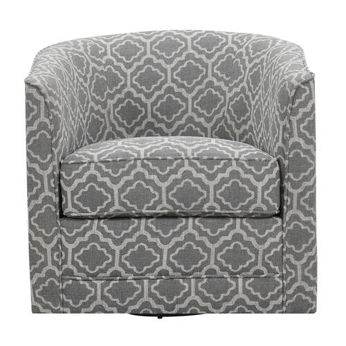 Milo Swivel Chair - Gray
