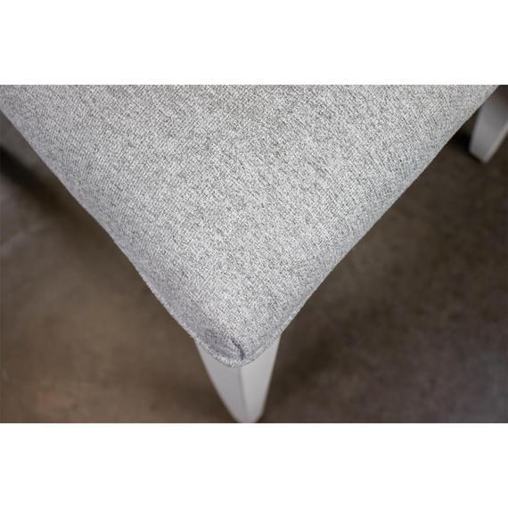 Riverside - Osborne - Upholstered Ladderback Side Chair - Winter White Finish