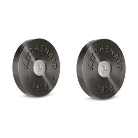 KitchenAid® Commercial-Style Range Handle Medallion Kit - Black