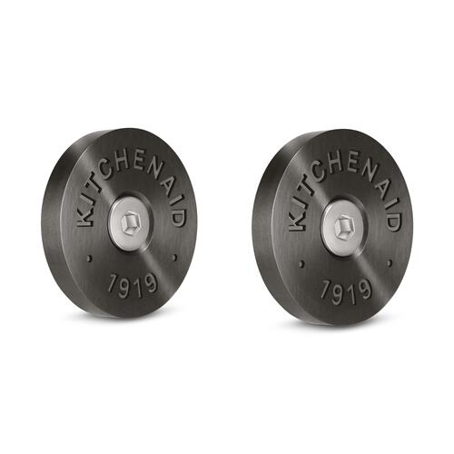 KitchenAid® Commercial-Style Range Handle Medallion Kit, Black - Other