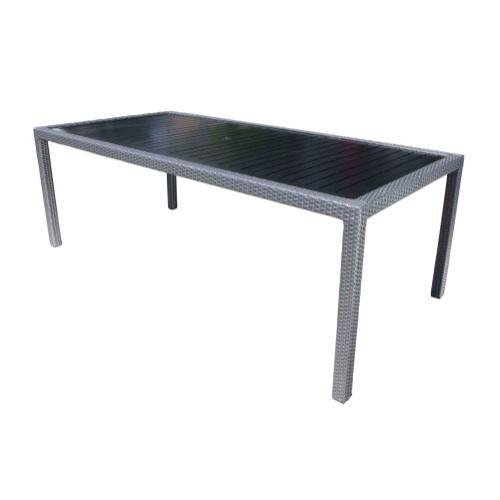 "Piano 84"" x 40"" Rectangular Dining Table"