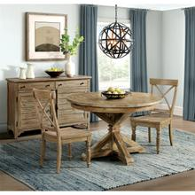 See Details - Sonora - Round Dining Table Top - Snowy Desert Finish