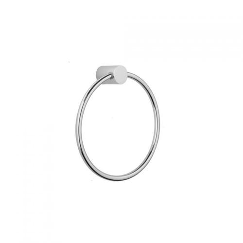 Polished Gold - Contempo II Towel Ring
