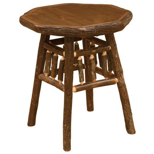 Teton End Table - Cinnamon