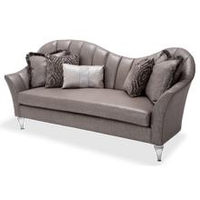 Maritza Channel Back Sofa Platinum