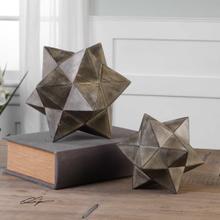 Geometric Stars Sculpture, S/2