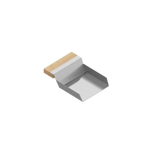 VeggieScoop 205338 - Stainless steel sink accessory , Maple