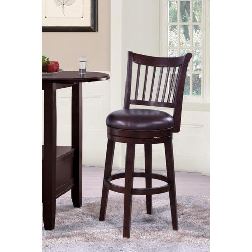 Product Image - Spencer 30 inch Wood Swivel Barstool