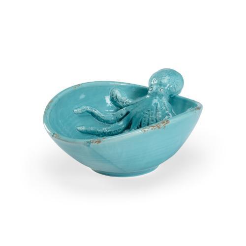 Octopus Garden Bowl - Aqua.