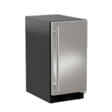 15-In Low Profile Built-In Crescent Ice Machine with Door Style - Stainless Steel