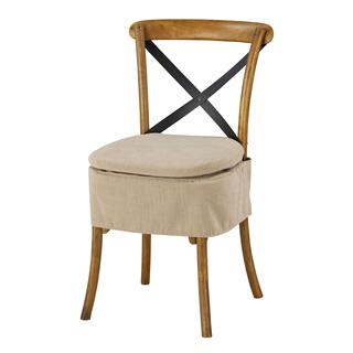 See Details - Short X-back Cushion (washable Oatmeal)