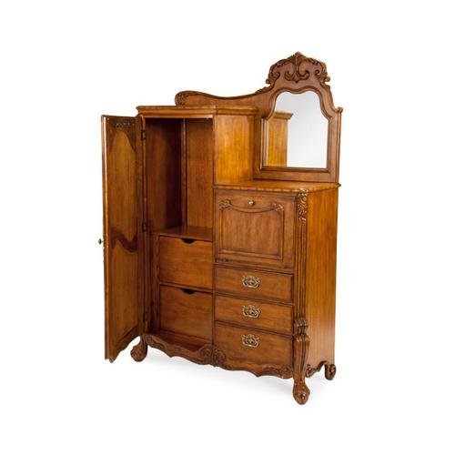 Dressing Chest and Mirror -(2pc)