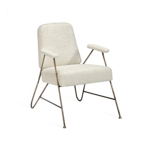 Georgie Lounge Chair - Bronze