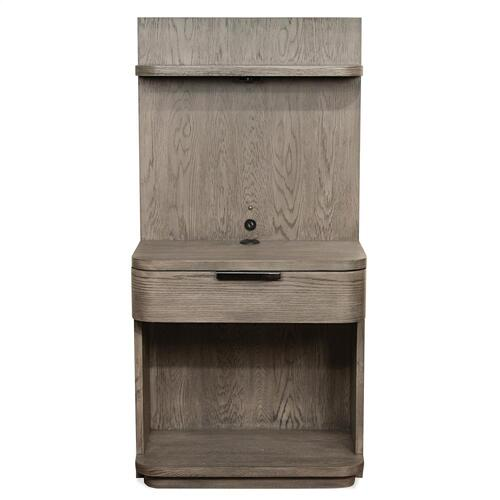 Precision - Low Pier Nightstand - Gray Wash Finish