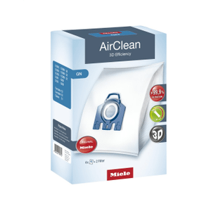 MieleDustbag GN AirClean 3D - AirClean 3D Efficiency GN dustbags ensures that dust picked up stays inside the machine.