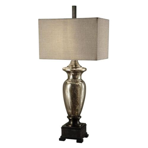 Crestview Collections - Antique Murcury Glass Table Lamp