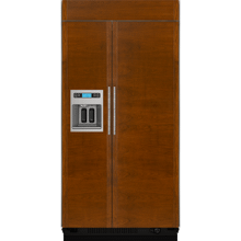 """See Details - 48""""(w) Built-In Side-By-Side Refrigerator with Dispenser Refrigeration Jenn-Air"""
