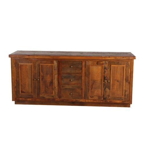 Stony Brooke 4 Door 3 Drawer Vanity With Wood Top