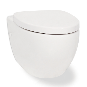 White CLARITY Wallhung Toilet Product Image