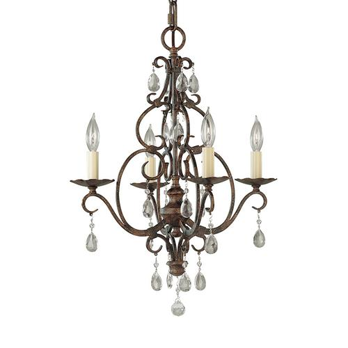 Chateau Extra Small Chandelier Mocha Bronze
