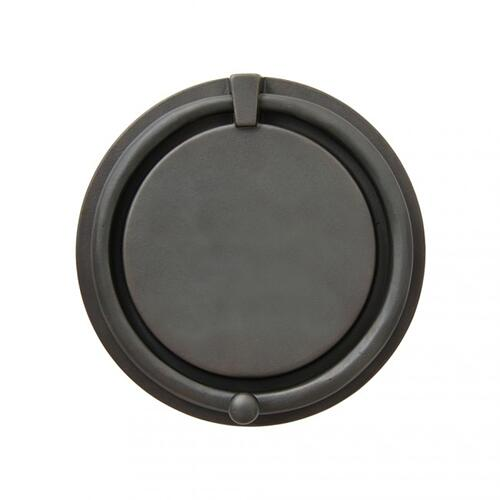 "Rocky Mountain Hardware - 8 1/4"" Round Door Knocker - DK825 White Bronze Light"
