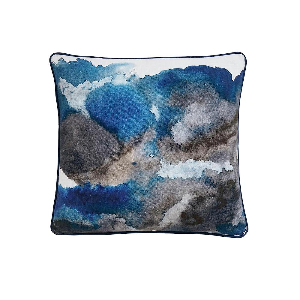 Delta Blue Pillow Cover