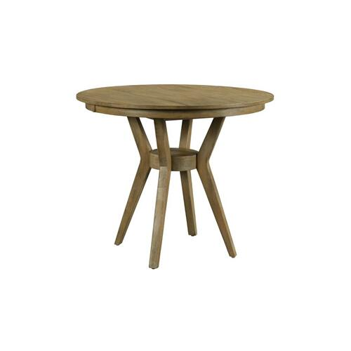 """Gallery - 44"""" Round Counter Height Dining Table Complete"""