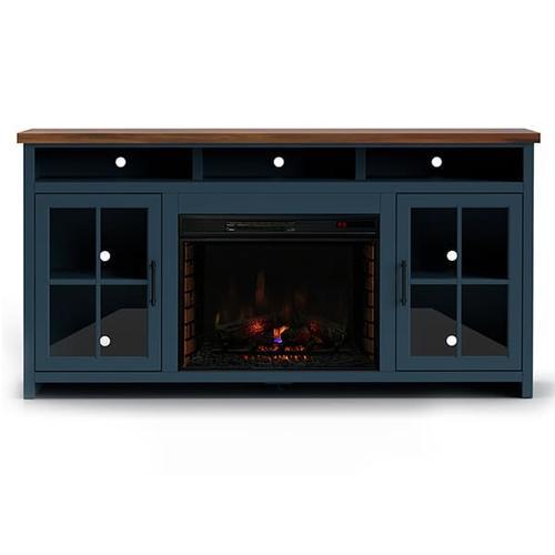 """Legends - Nantucket 74"""" Fireplace Console(GL)"""