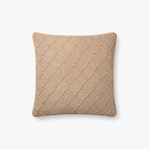 P0675 Natural / Gold Pillow
