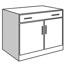 See Details - Base Unit, 2 Doors and 1 Drawer