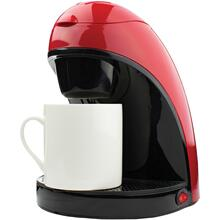 Single-Serve Coffee Maker with Mug (Red)