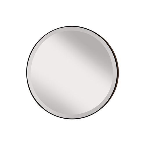 Johnson Round Mirror Oil Rubbed Bronze