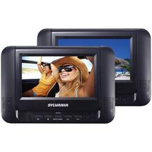 "7"" Dual Screen/Dual DVD Portable DVD Players"