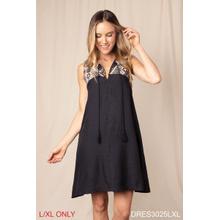 See Details - Bali Bound Jacquard Trim Dress - L/XL (3 pc. ppk.)